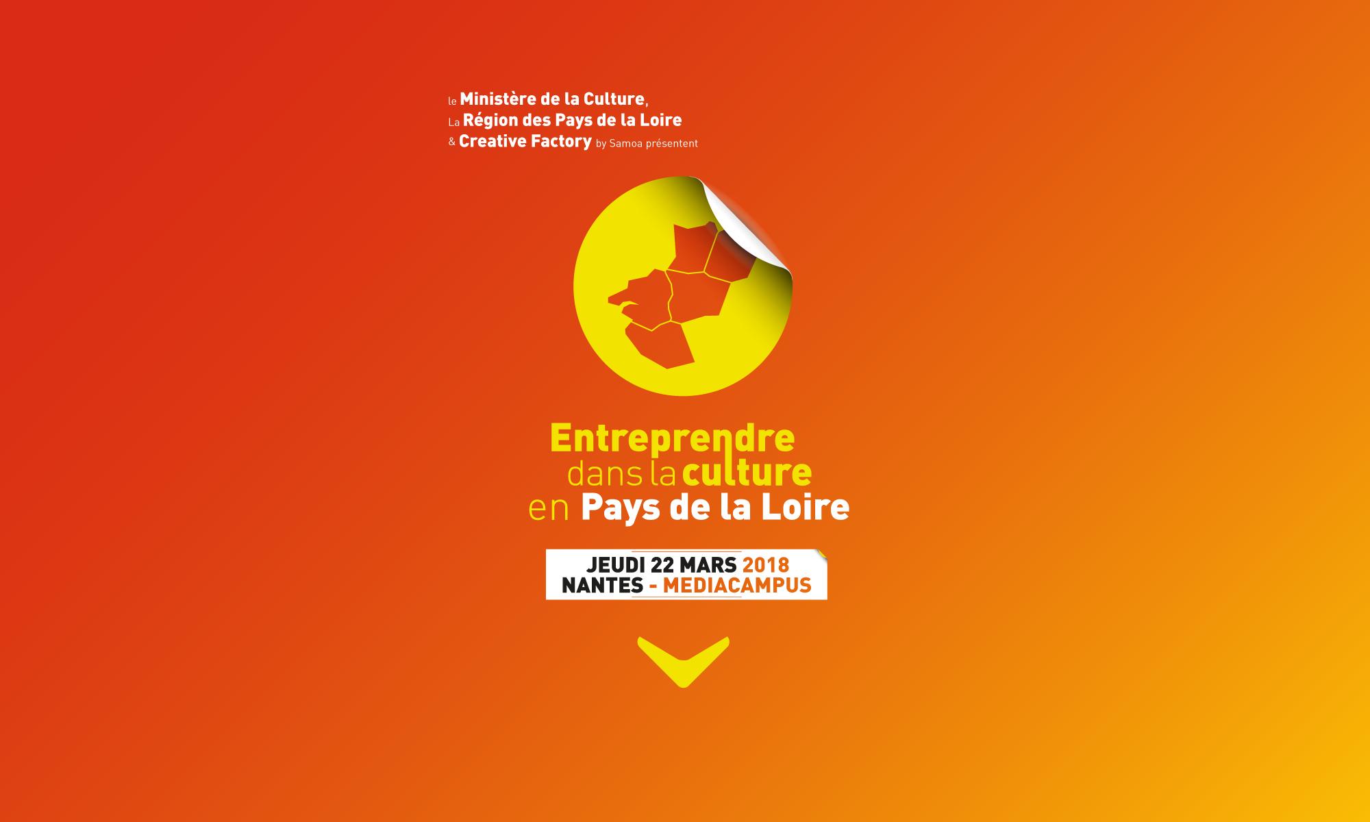 Entreprendre dans la Culture Pays de la Loire